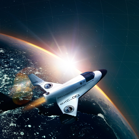 KLM trip to space
