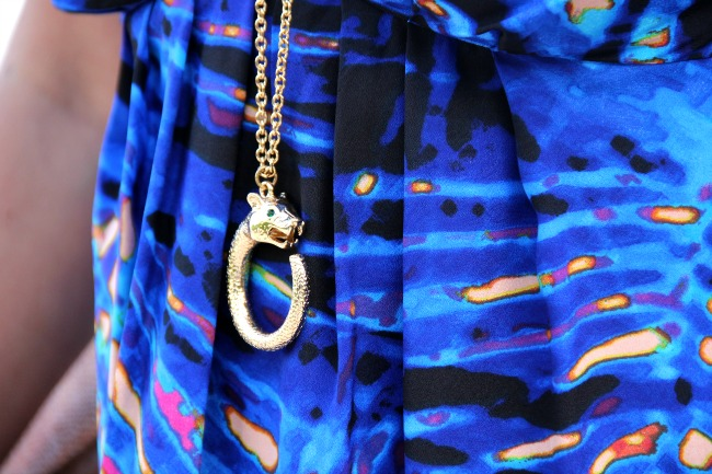 Panther Maxu necklace