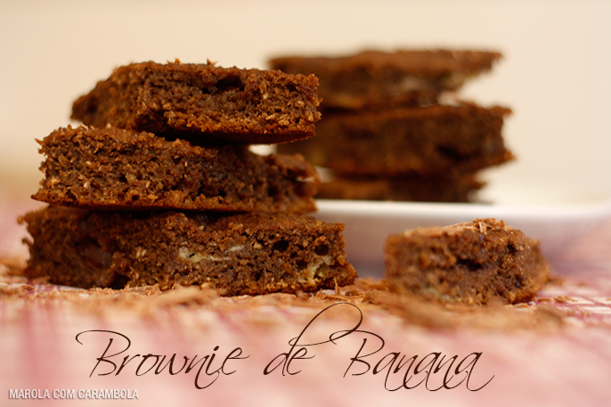 Brownie-banana